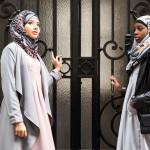 Duo de robes Louisa Rose et Grise & Cardigan Nourane Gris - Misstoura