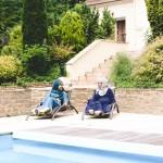 Robe Summer Vert Emeraude & Robe Saliya Bleu Marine - Misstoura