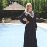 Robe Saliya Bleu Marine - Misstoura