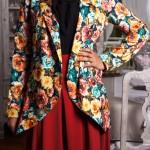 Jacket Moona & Jupe Harmony Rouille Misstoura