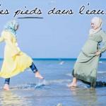 Tunique Evasion Jaune Poussin & Robe Saliya Kaki Clair - Misstoura