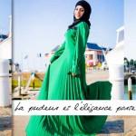 Robe Grâce Vert Brésil - Misstoura