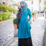 Tunique Mady Bleu Canard - Misstoura
