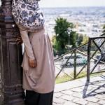 Tunique Mady Mastic et jupe Idyl Noire - Misstoura
