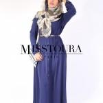 Robe Joumana Bleu - Misstoura