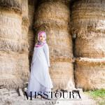 Robe Eva Gris clair - Misstoura