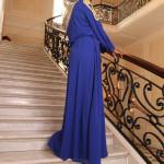 Robe Eglantine Bleu Roi - Misstoura