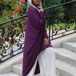 Tunique Chemsy Aubergine - Misstoura