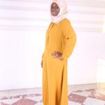 Abaya Safiya Moutarde - Misstoura