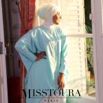 Tunique Chemsy Bleu Dragée - Misstoura