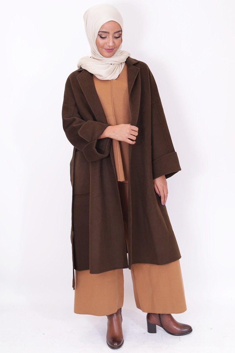 ensemble femme musulmane voil e hijab pantalon palazzo. Black Bedroom Furniture Sets. Home Design Ideas