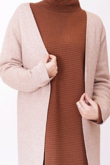Cardigan Chaden Sable pas cher & discount