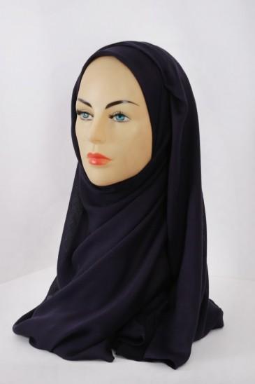 Hijeb Cachemire - Aubergine pas cher & discount