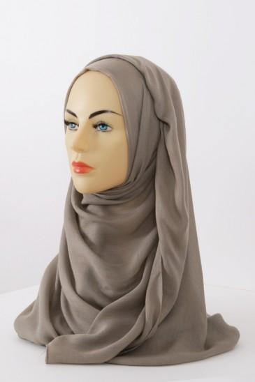 Hijeb Cachemire - Beige Foncé pas cher & discount