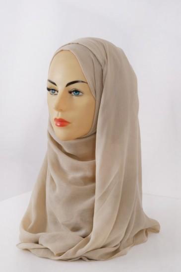 Hijeb Cachemire - Beige clair pas cher & discount