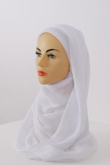 Hijeb Cachemire - Blanc pas cher & discount