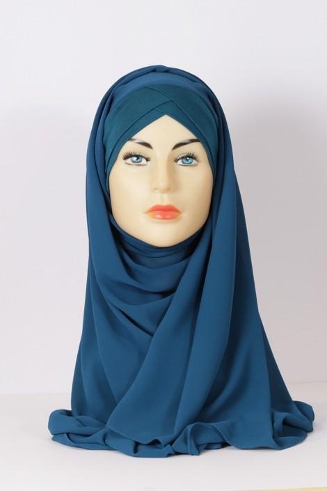 Hijeb Lestonia - Bleu Canard