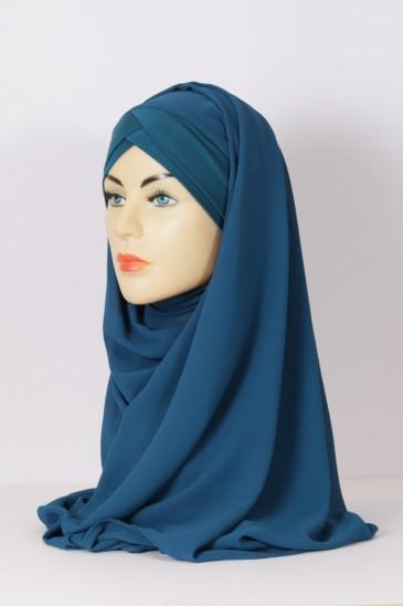 Hijeb Lestonia - Bleu Canard pas cher & discount