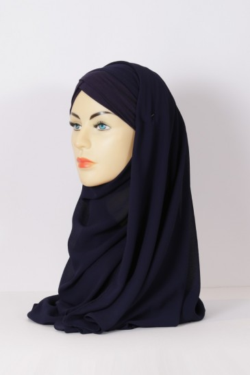 Hijeb Lestonia - Bleu Marine pas cher & discount