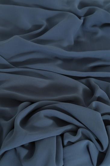 Hijab basic carré bleu guède pas cher & discount