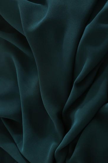 Hijab Basic carré vert canard pas cher & discount