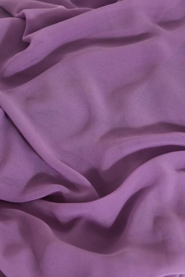 Hijab basic carré parme pas cher & discount
