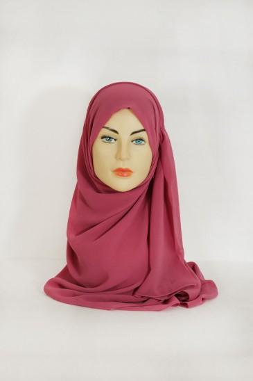Hijeb Basic Carré rose balais pas cher & discount