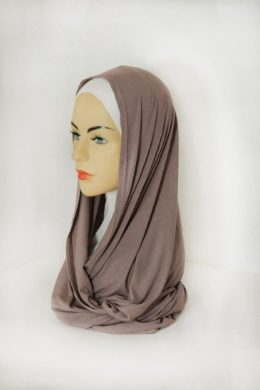 Snood Uni Taupe pas cher & discount