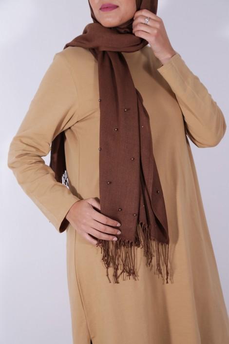Tunique Diyya Camel