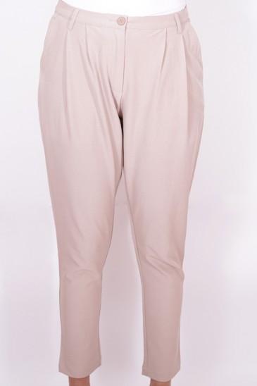 Pantalon Loane Beige Rosé pas cher & discount