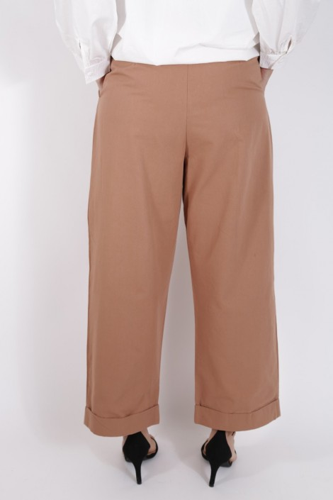 Pantalon Yousra Terre Cuite