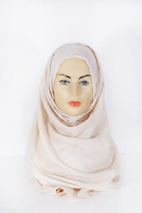 Hijab Pashmina XXL Beige
