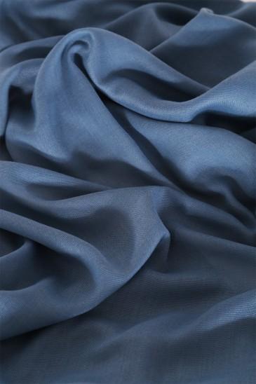 Hijab Pashmina XXL Bleu turquin pas cher & discount