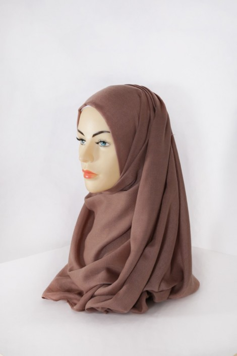 Hijab Pashmina XXL Chataigne