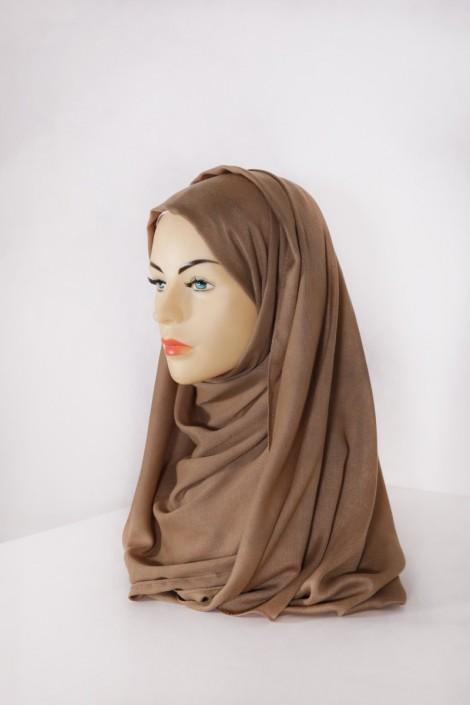 Hijab Pashmina XXL Cognac