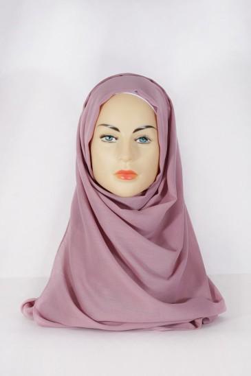 Hijab Pashmina XXL Lilas pas cher & discount