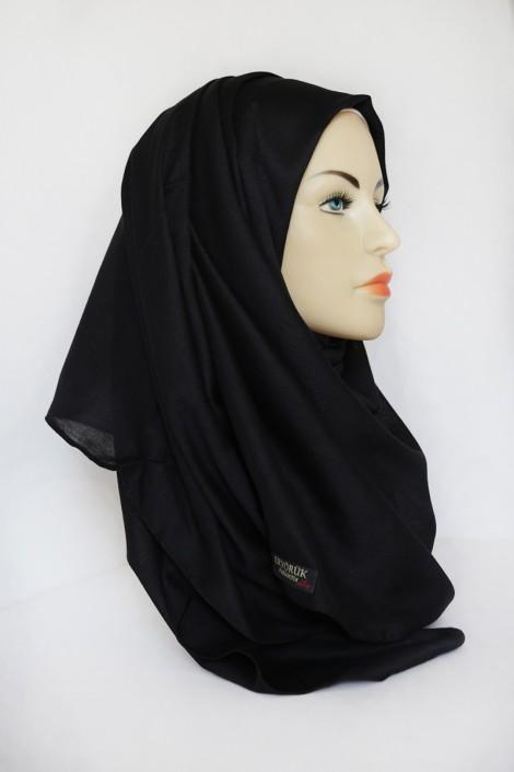 Hijab Pashmina XXL Noir