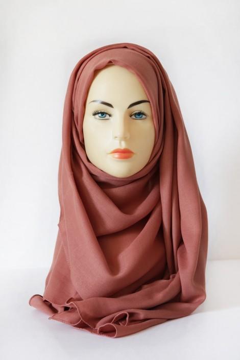 Hijab Pashmina XXL Abricot