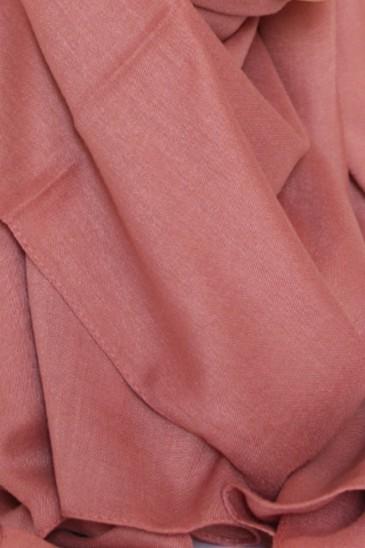 Hijab Pashmina XXL Abricot pas cher & discount