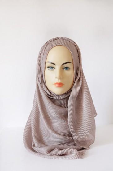 Hijab Zoé Taupe pas cher & discount