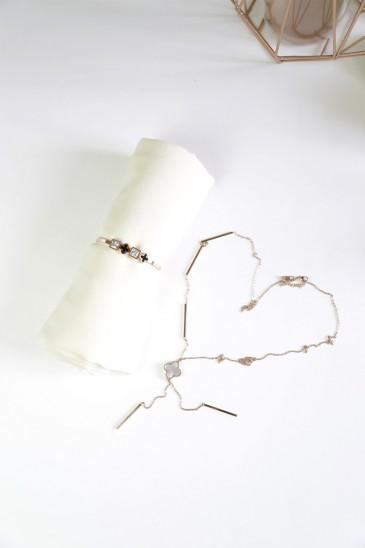 Bracelet acier Carina pas cher & discount