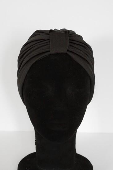 Turban Laurita Noir pas cher & discount