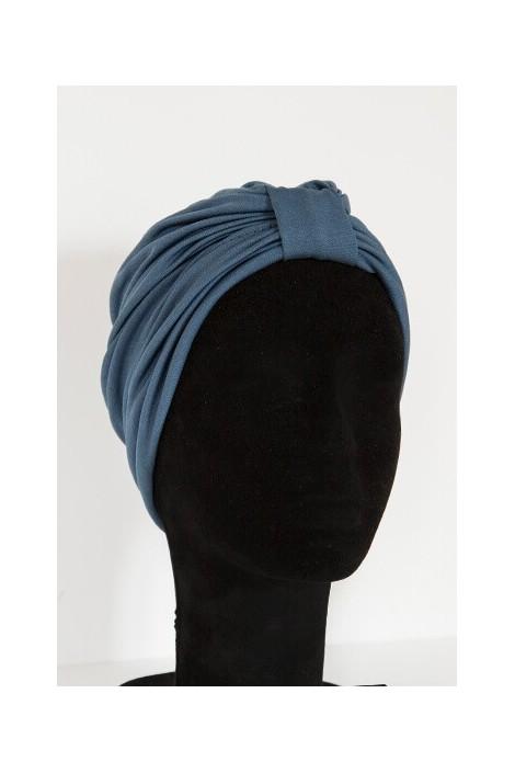 Turban Laurita Bleu Guède