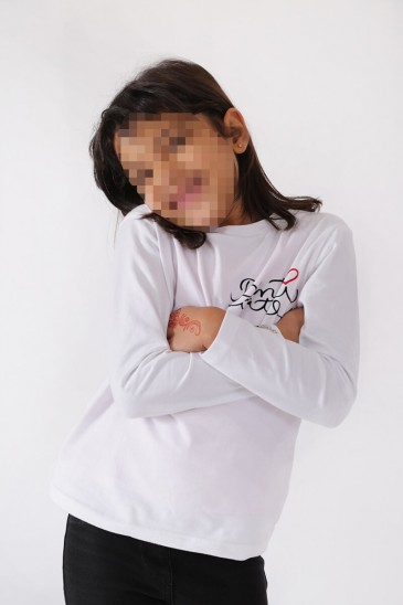 T shirt Benti Blanc pas cher & discount