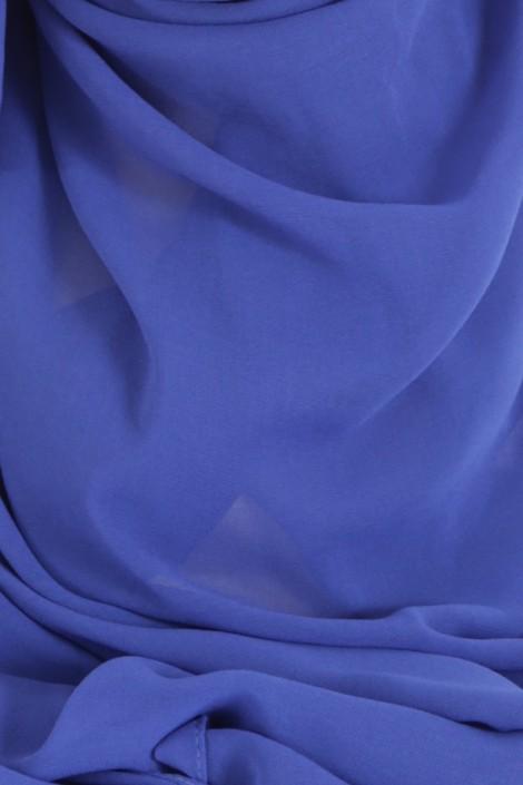 Hijeb Basic Carré Bleu Roi