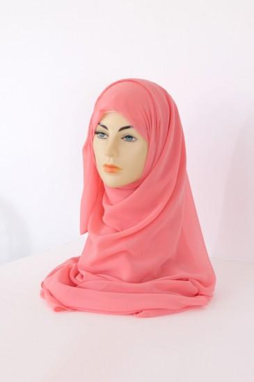 Hijeb Basic carré Corail pas cher & discount
