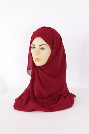 Hijeb Basic Carré pourpre pas cher & discount