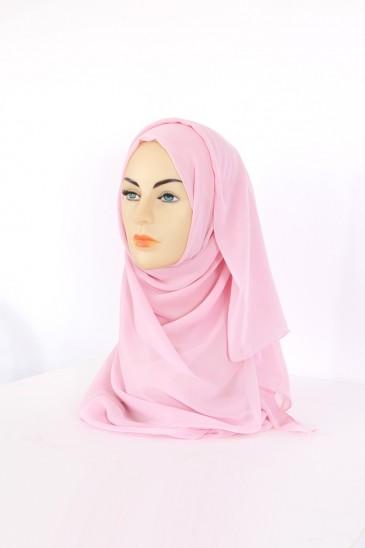 Hijeb Basic carré Rose Dragé pas cher & discount