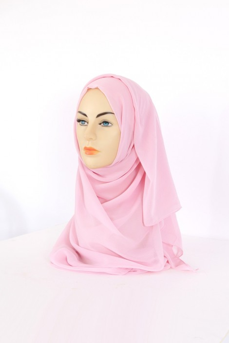 Hijeb Basic carré Rose Dragé