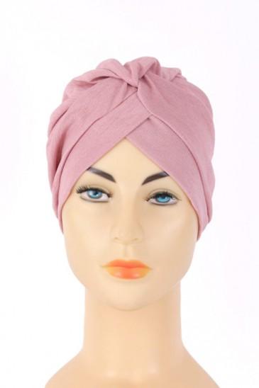 Turban Rania Rose pas cher & discount
